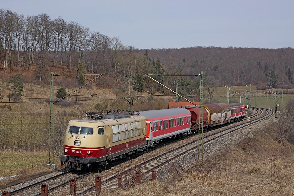Messfahrten auf der Geislinger Steige - Teil VI