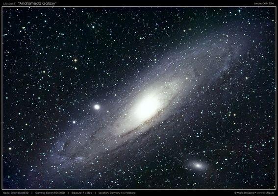 Messier 31 - Die Andromeda Galaxie