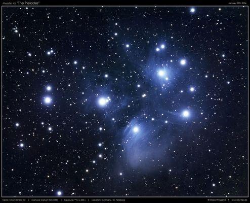 Messier 45 - Die Plejaden