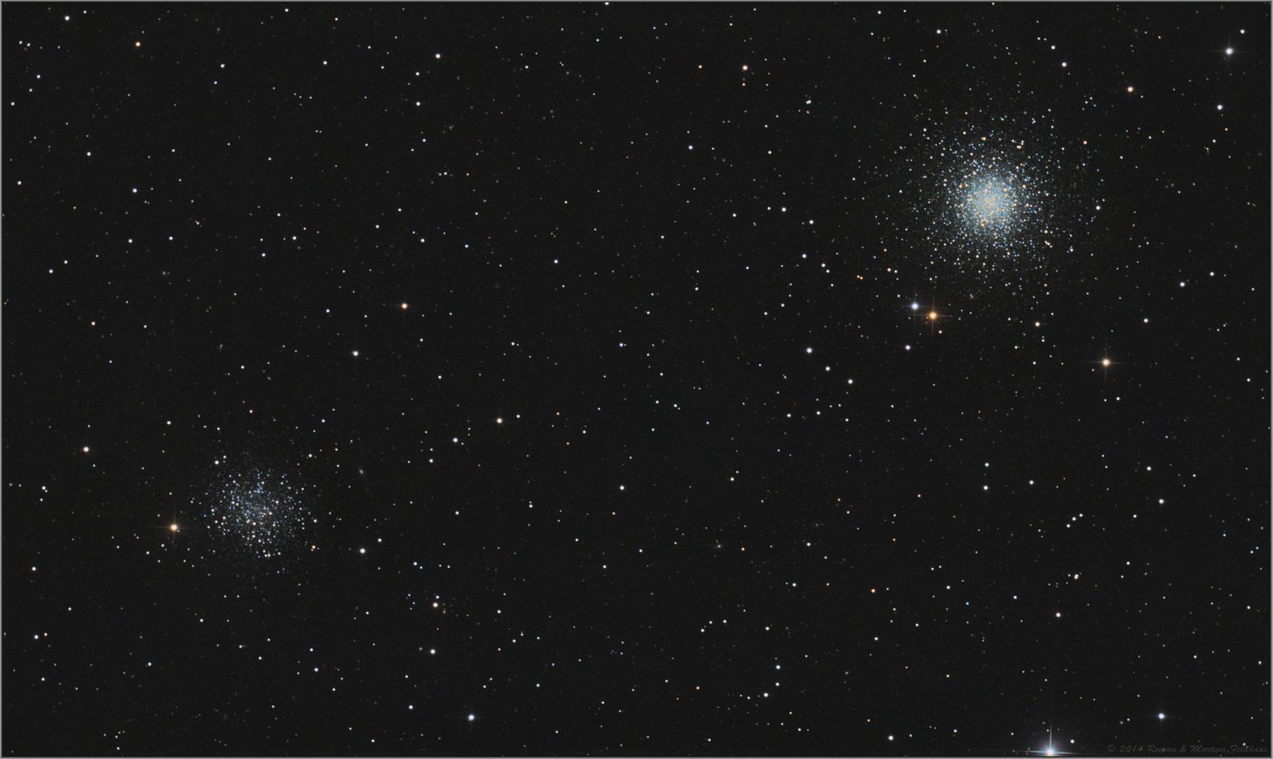 Messier 53 und NGC 5053