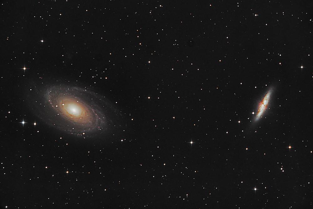 Messier 81 und Messier 82
