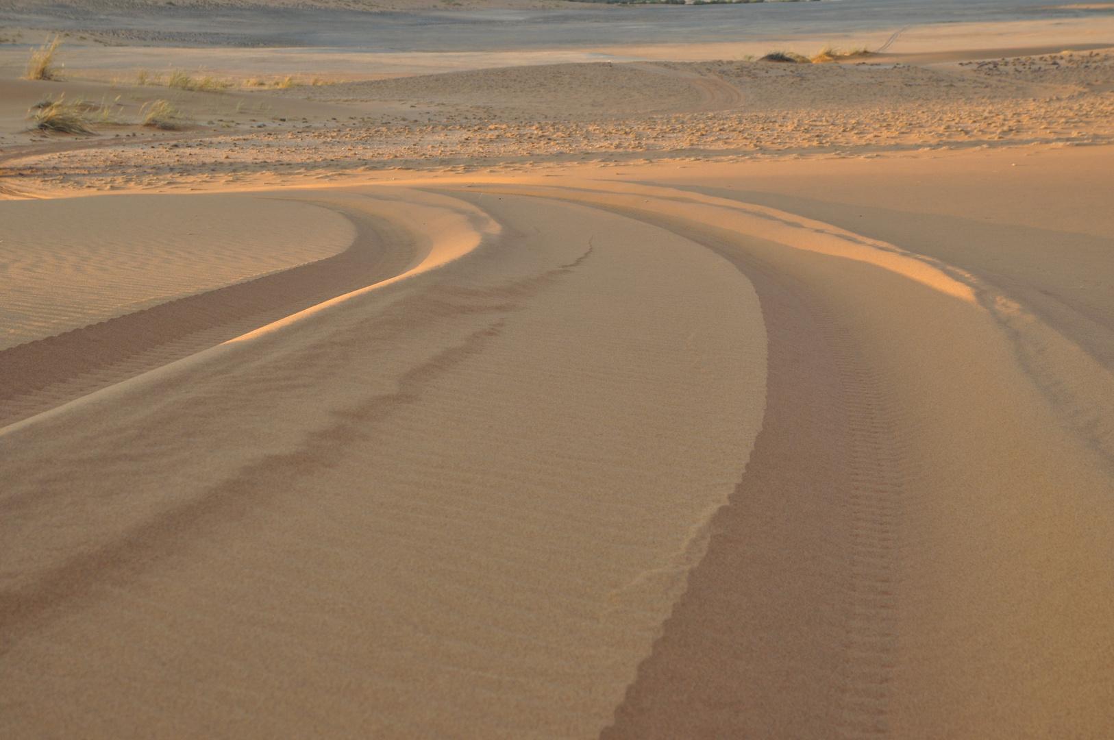 Messungen von IR Strahlung in der Namib (2)