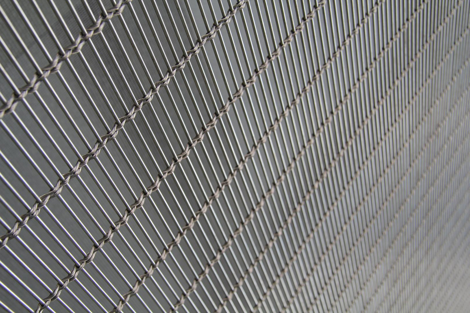 metall vorhang vom kunsthaus in mannheim foto bild konzept fotografie diagonalen spezial. Black Bedroom Furniture Sets. Home Design Ideas