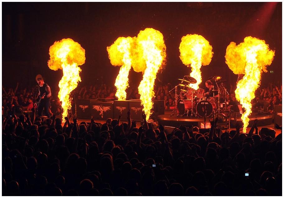 Metallica machten die ARENA Leipzig zur rockigen Hölle...