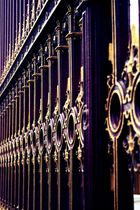 Metallzaun Hofburg Wien