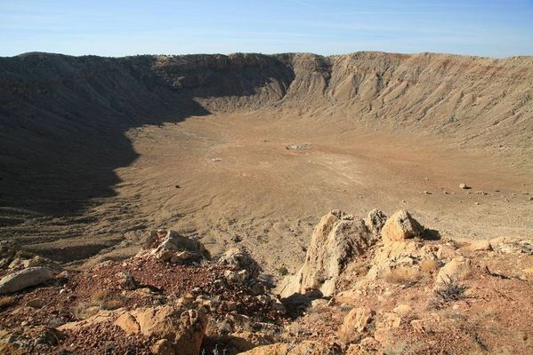 Meteor Krater bei Flagstaff