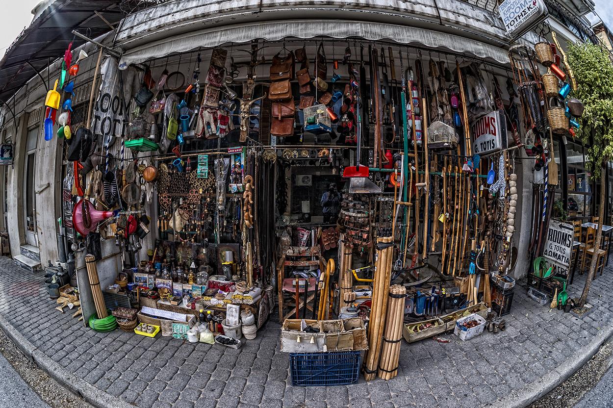 Meteora - der Laden
