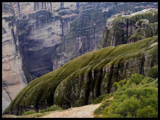 Meteora-landschaft