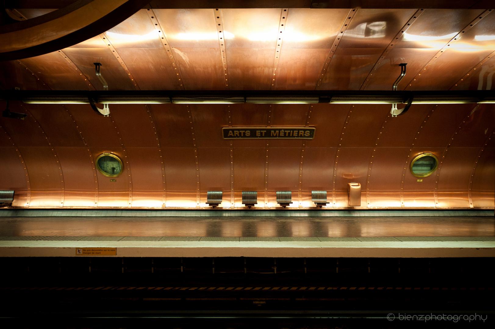 """Metro Station """"Arts et Métiers"""""""