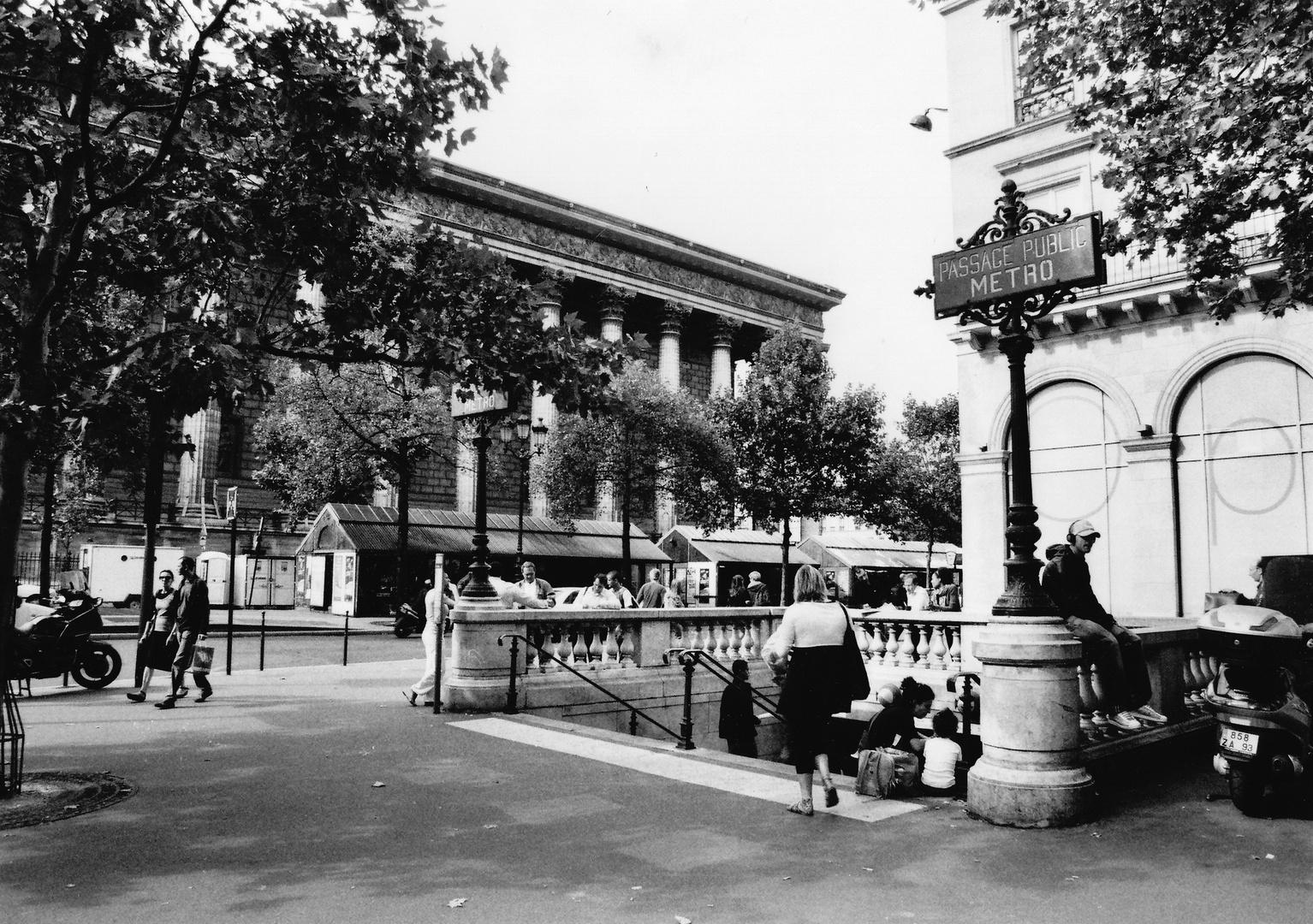Metro-Station in Paris