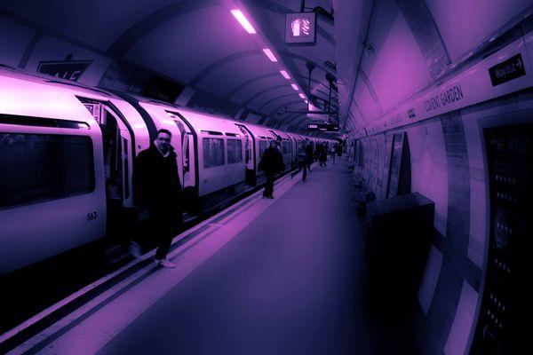 Metro Station - London (2)