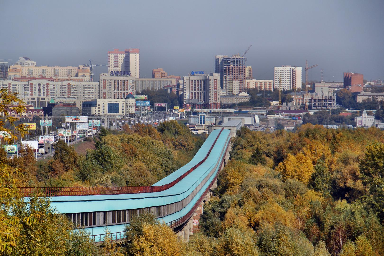 Metro to Novosibirsk