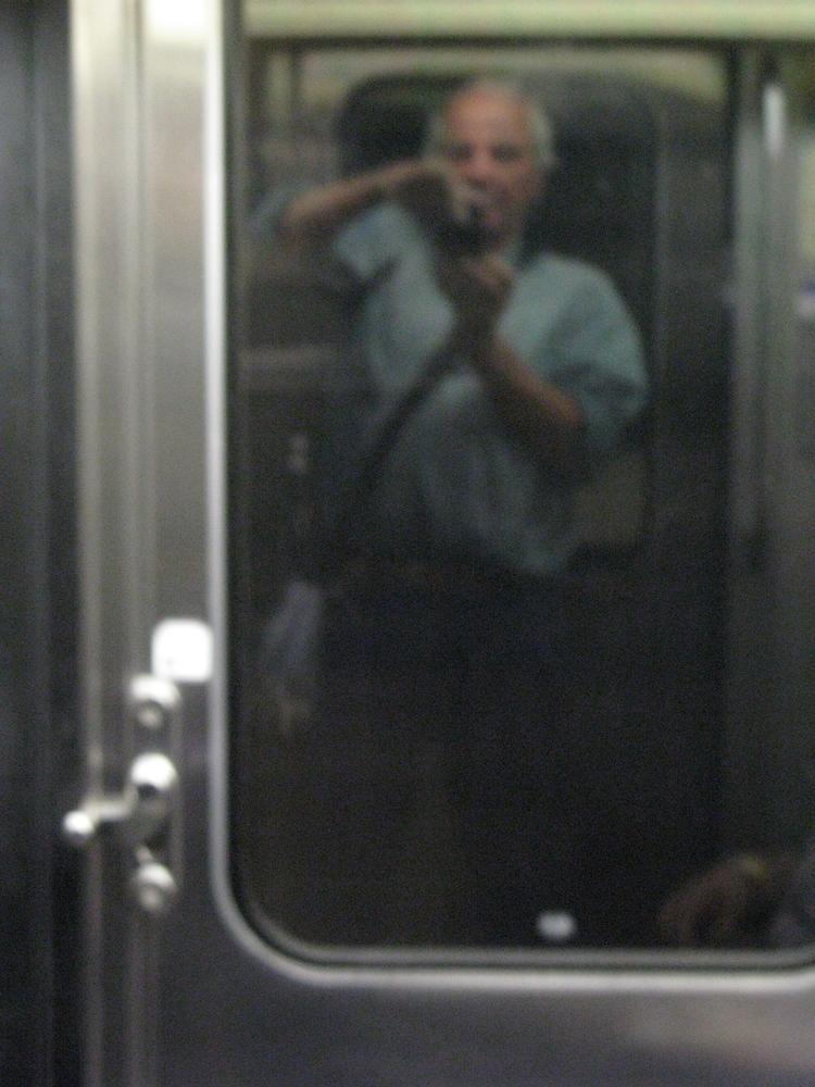 métro, unscharf