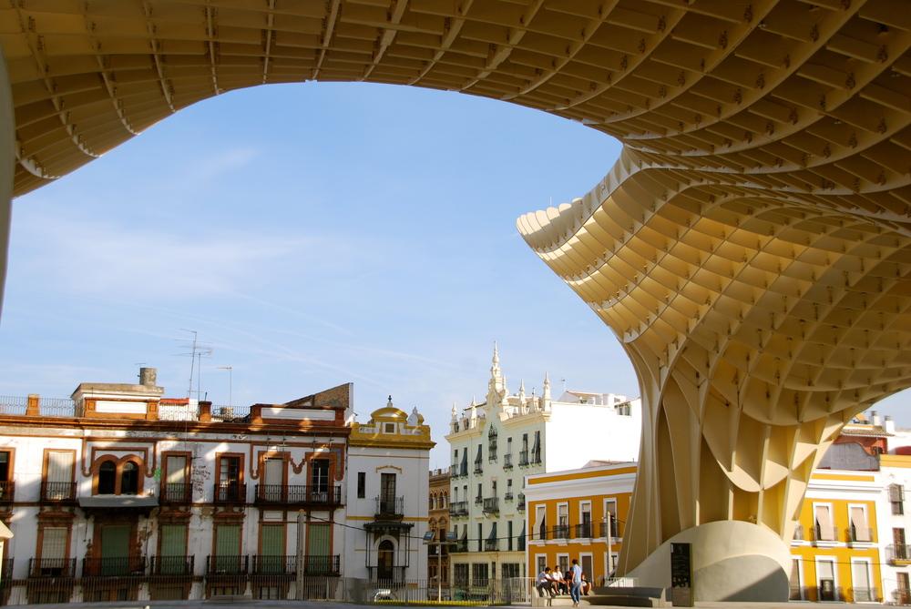 Metropol Parasol, Plaza de la Encarnación, Sevilla