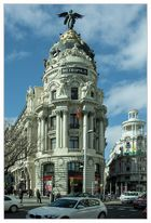 Metropolis-Haus in Madrid