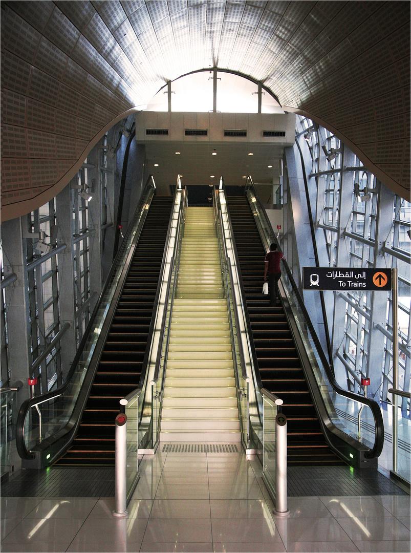 Metrostation Dubai