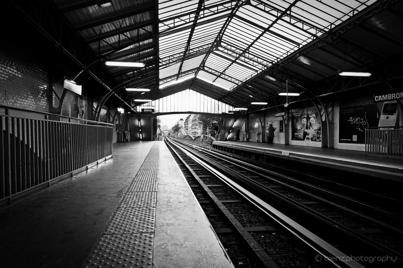 Metrostation in Paris