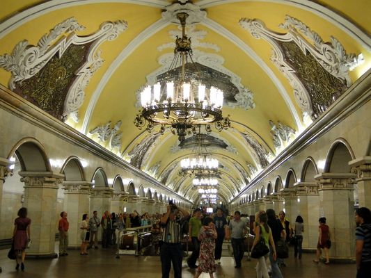 Metrostation /Moskau