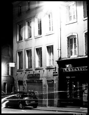 Metz - at night