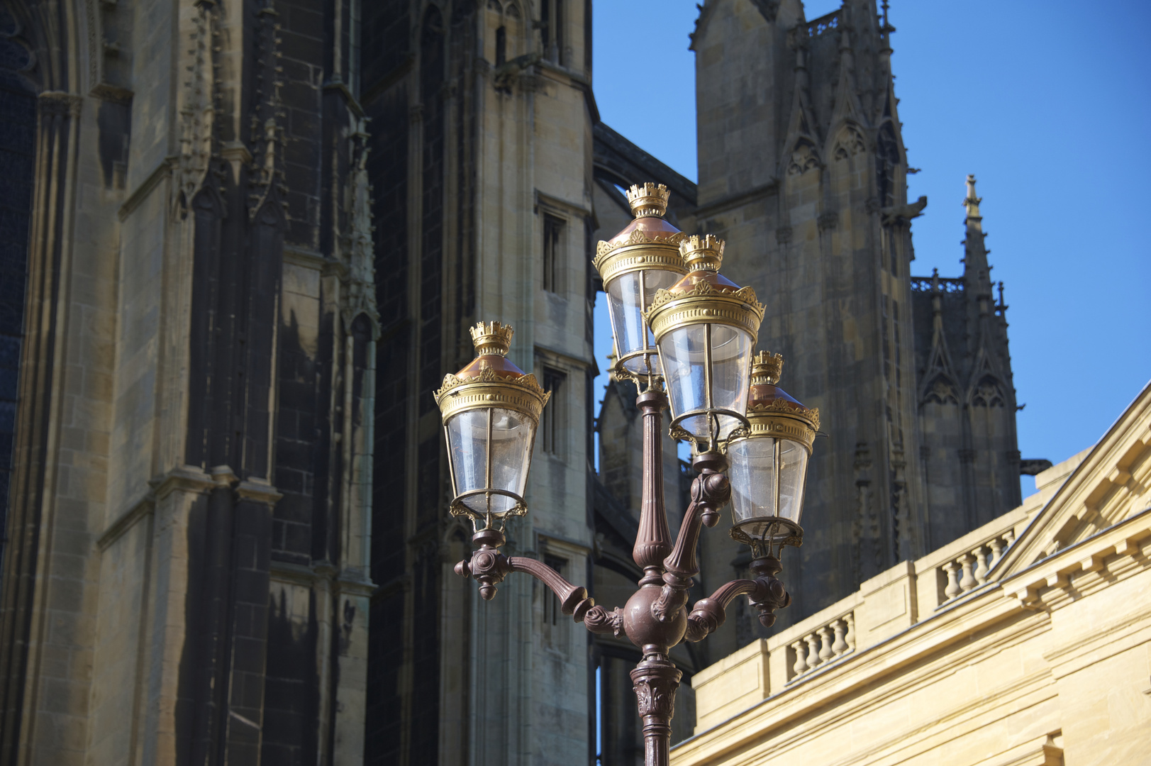Metz, historische Kulisse