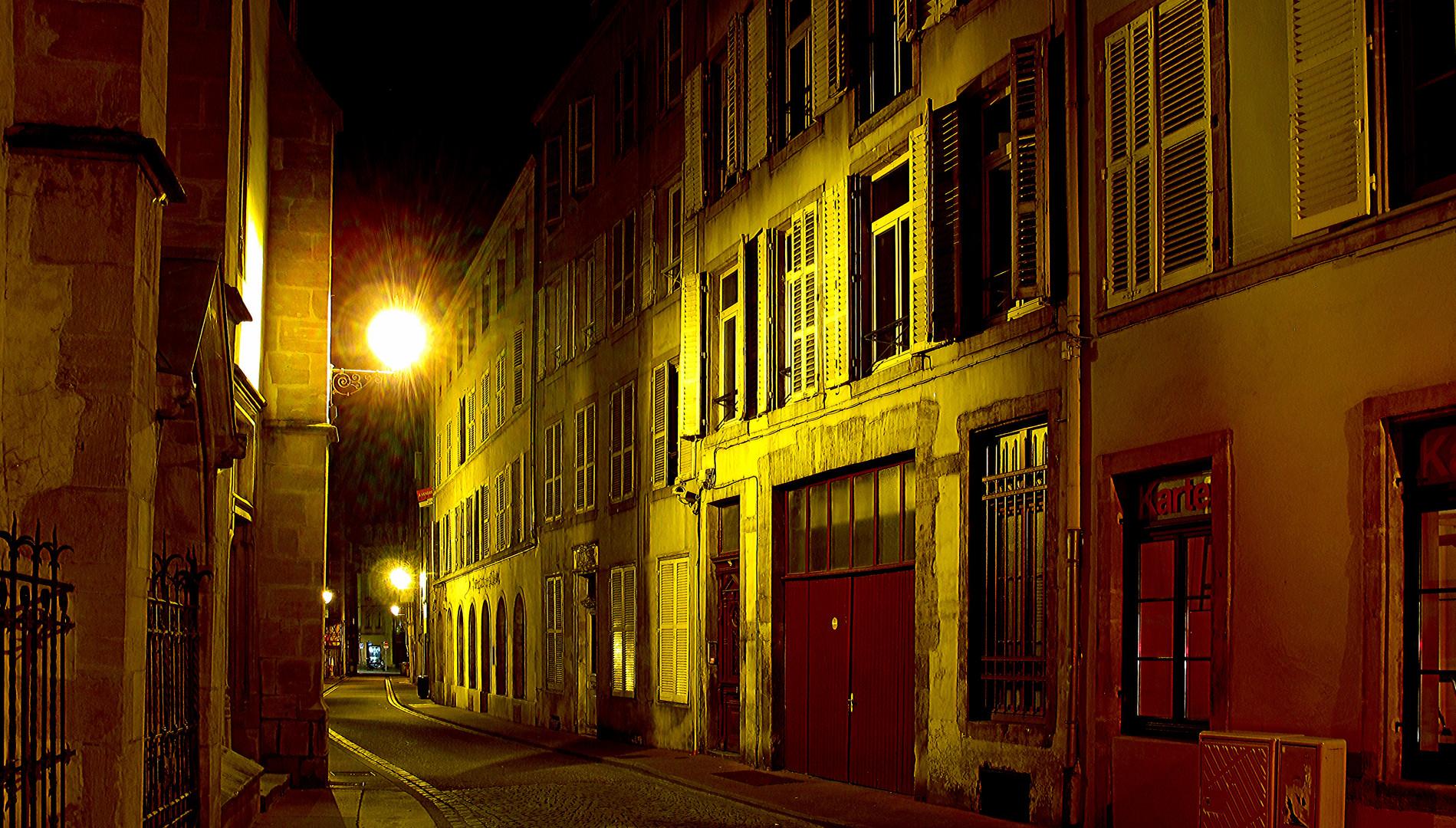 Metz in einer Julinacht 2013