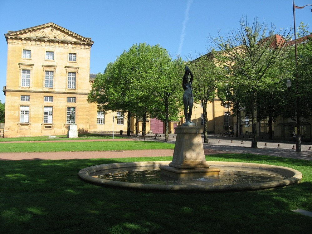 Metz - L'esplanade 2