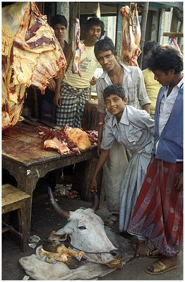 Metzgerei in Sylhet