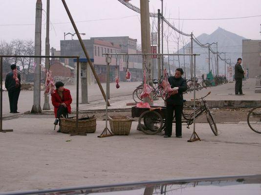 Metzgerei in Xintai