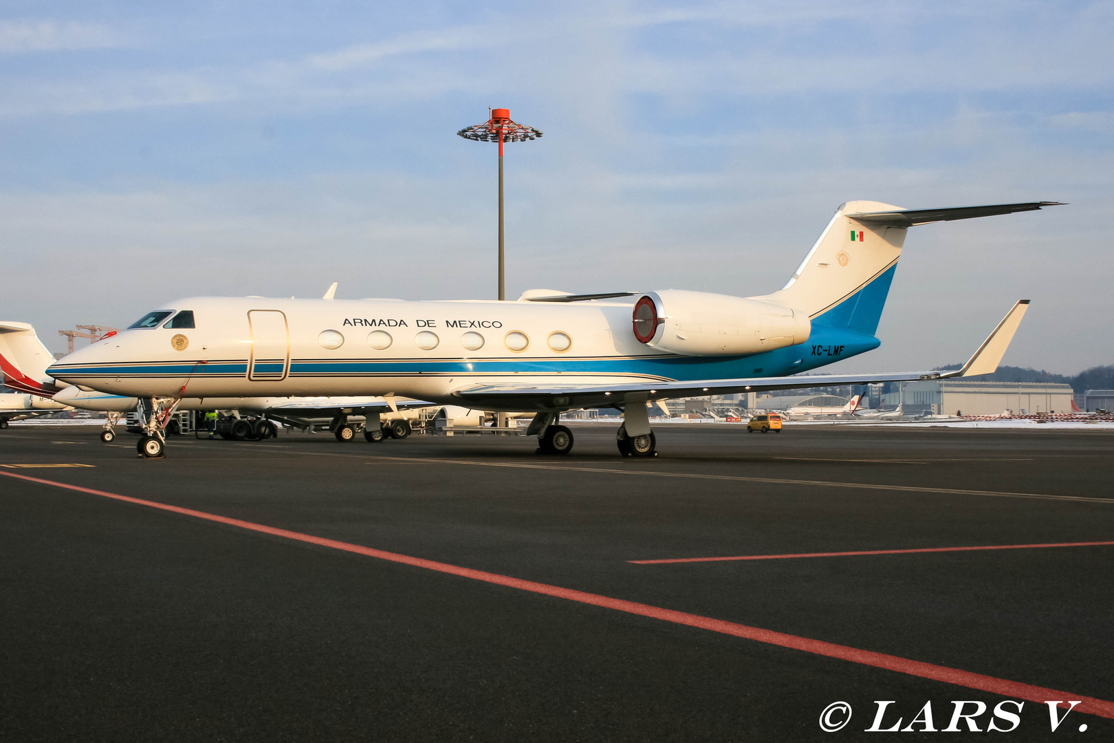 Mexico Airforce Gulfstream XC-LMF