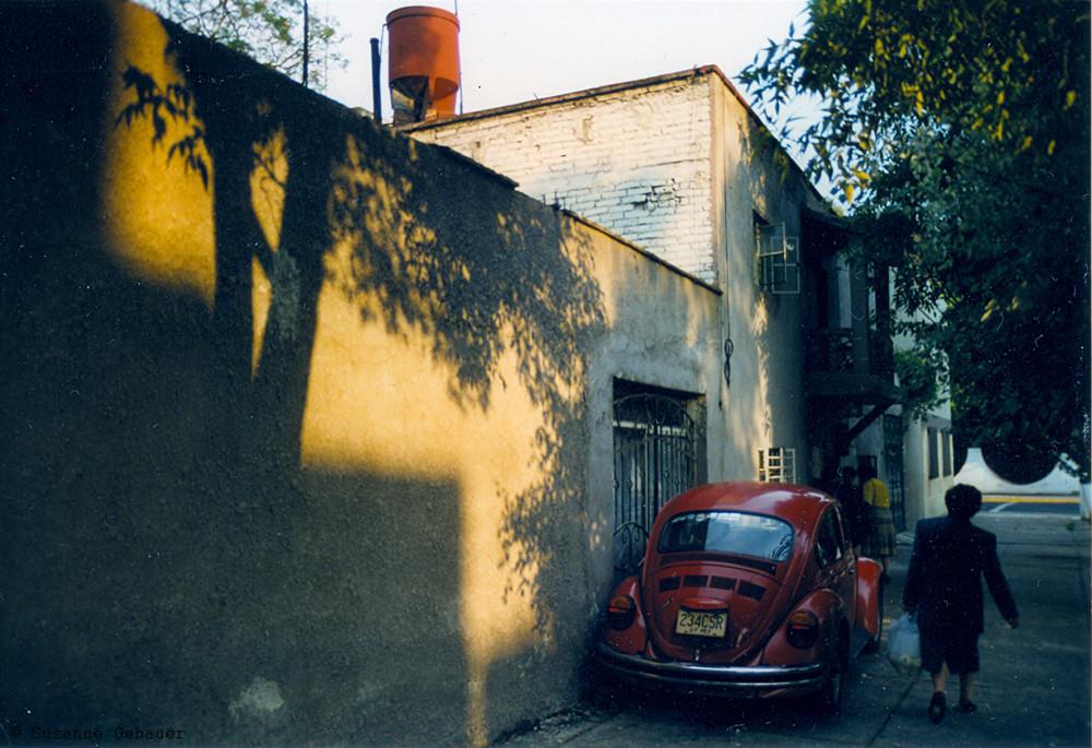 Mexico City, im Viertel Frida Kahlos