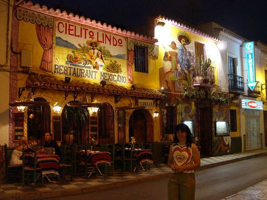 Mexico mitten in Nerja/ Andalusien