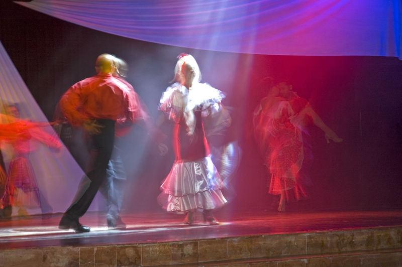 Mexikanische Bühnentänzer