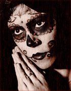 Mexikanische Todesmaske