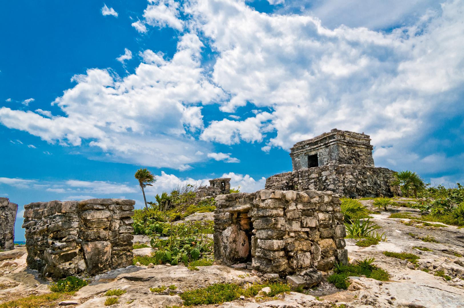 Mexiko - Ruinen von Tulum