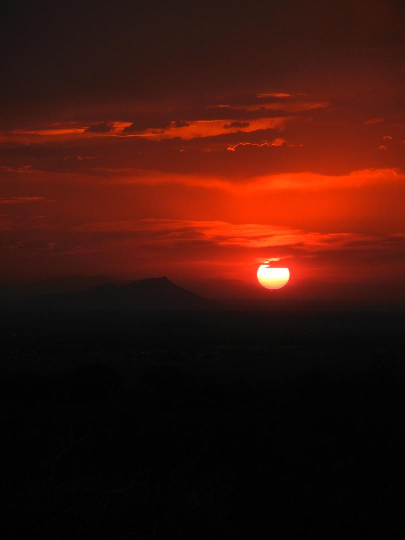 Mexikos Sonnenuntergang