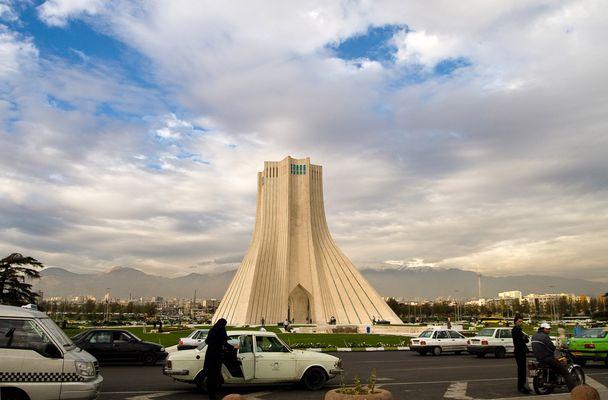 Meydane Azadi - Platz der Freiheit - Tehran