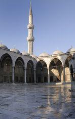 Mezquita Azul, interior. Estambul