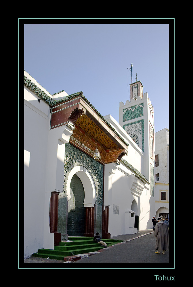 Mezquita en Tanger