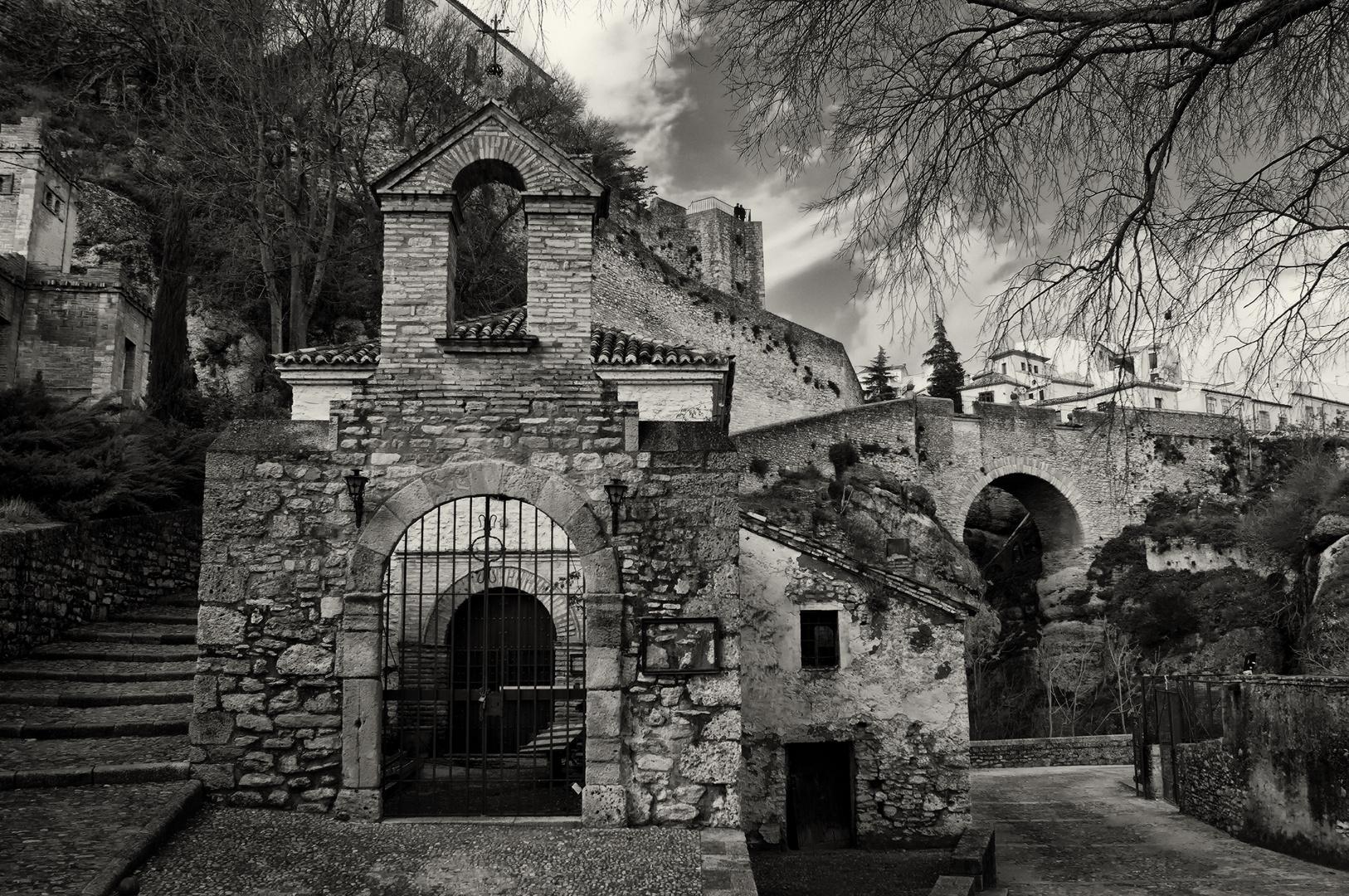 mezquita y puente viejo ronda