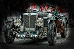 MG bei Silvretta Classics