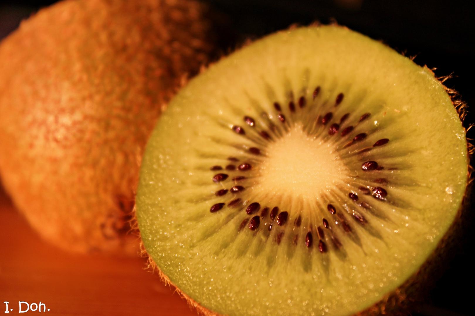 mhmmm... lecker... Kiwi...