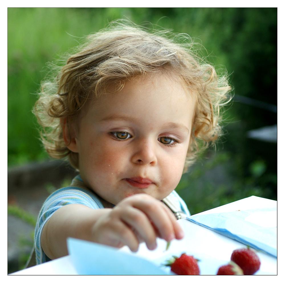mhmmmm .. süsse Erdbeeren