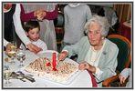 Mi abuela Carmen en su 102 cumpleaños
