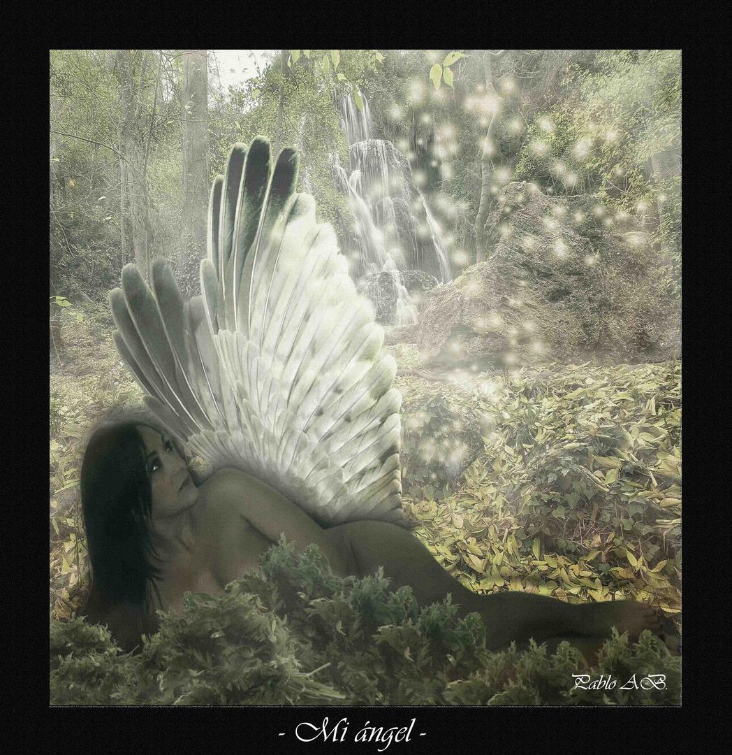 - Mi ángel -