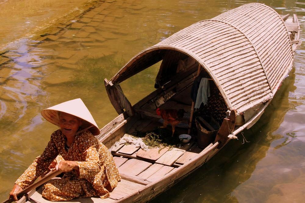 Mi casa en una barca