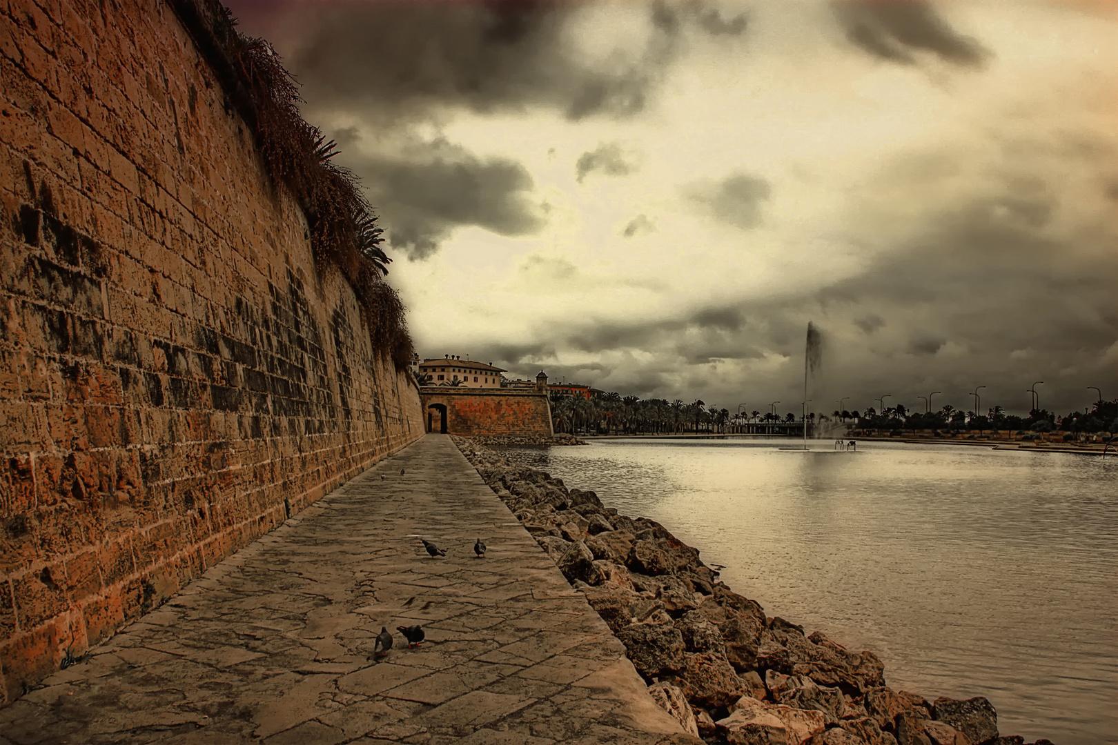 Mi ciudad...en un día gris...