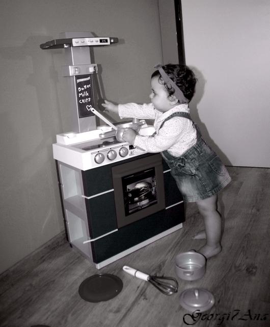 mi cocinera Georgiana