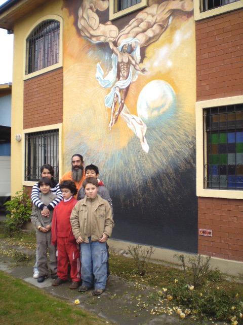 mi hijo ,mis sobrinos y jose maria (el bin laden)