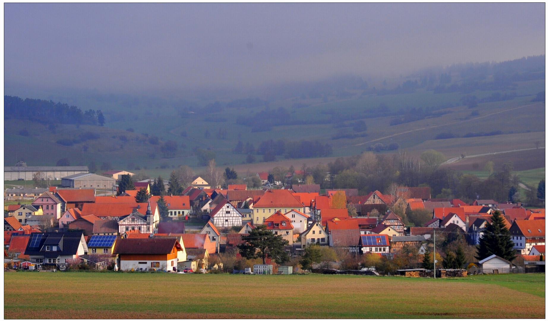 Mi pueblo esta mañana (Mein Dorf heute morgen)