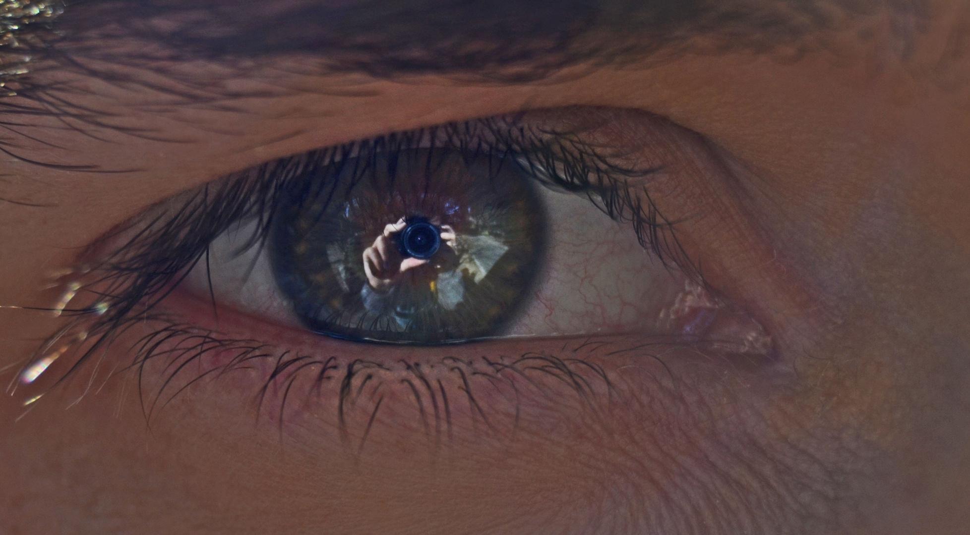 Mi reflejo en tu mirada.